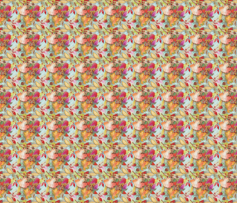 Autumn Leaves Pattern  fabric by edithschmidt on Spoonflower - custom fabric
