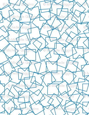 Basic Blue Squares
