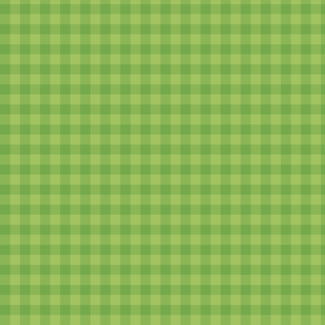 kiwi green gingham fabric by weavingmajor on Spoonflower - custom fabric