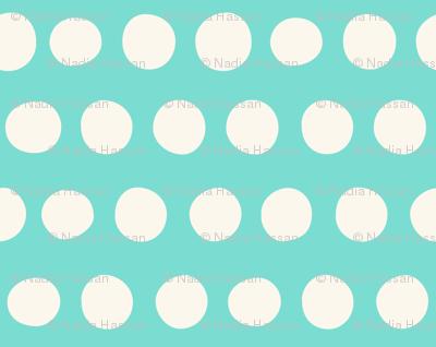 Jumbo Dots: Aqua