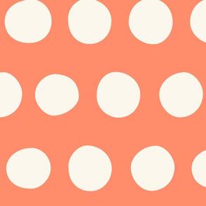 Jumbo Dots: Coral