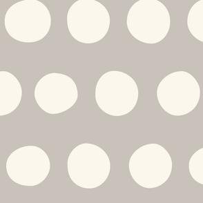 Jumbo Dots: Gray