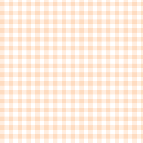 pale peach gingham fabric by weavingmajor on Spoonflower - custom fabric