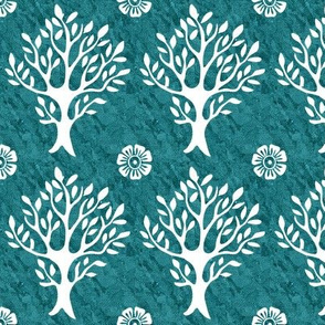 white-tree-stamp-VECTOR-w-corner-flwrs-FULLSIZE4in-150-white-smforestgreenbatik