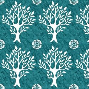 white-tree-stamp-VECTOR-w-corner-flwrs-FULLSIZE4in-150-white-smforestgreenbatik