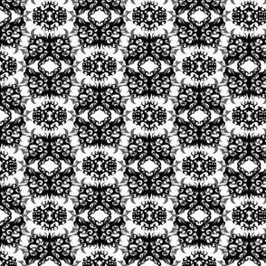 StacyCK Studio - Black & White Damask - Winter 2016