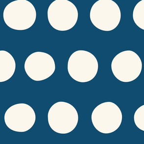 Jumbo Dots: Navy