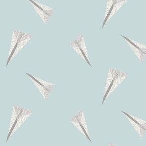 Paper Airplane Fabric