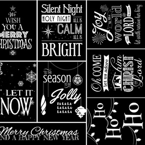 Chalkboard Christmas Songs 2015