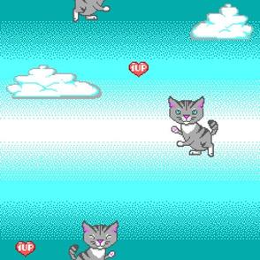 Pixel Cat EGA 1UP
