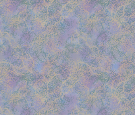 Lovely Lichens (Larger Scale) fabric by lottibrown on Spoonflower - custom fabric