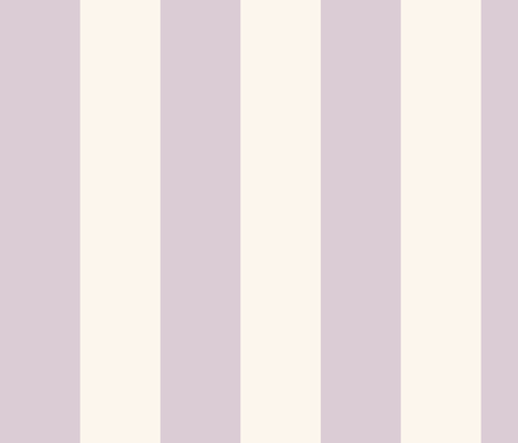 lilac-mauve and cream cabana stripes fabric by weavingmajor on Spoonflower - custom fabric