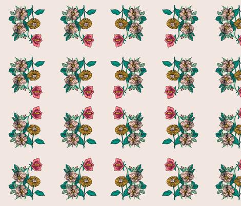 SPRING BOTANICAL fabric by melanie_hodge on Spoonflower - custom fabric