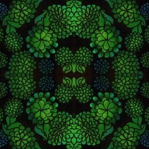 Green_Floral_