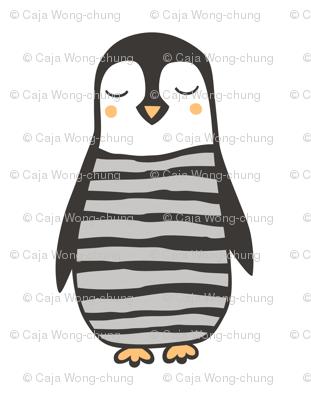 Penguin Plush Plushie Softie Cut & Sew