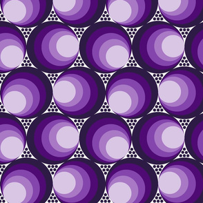 Purple moon phases with_dots_on_white