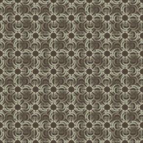 Floral Field - Mahogany