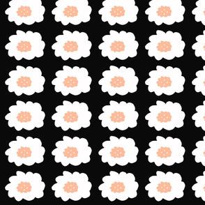 OK Flowers B&W