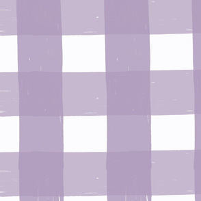 Purple Grunge Plaid