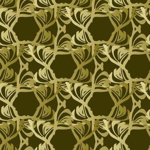 Floral Trellis- Pine