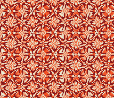 Pods - Chilli fabric by kathyjuriss on Spoonflower - custom fabric