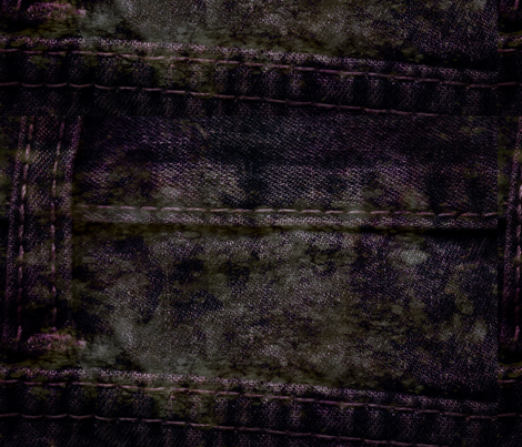 Denim Dreams: Violet_Grunge fabric by higmeister on Spoonflower - custom fabric