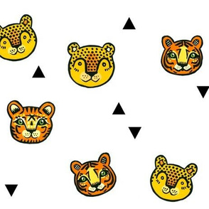 Big Cats + Triangles