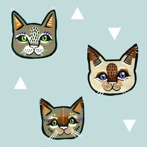 Cat Faces 5
