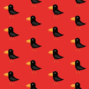 rabe_Black cute raven