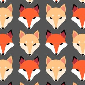 2 Inch Fox and Doge Basic Repeat