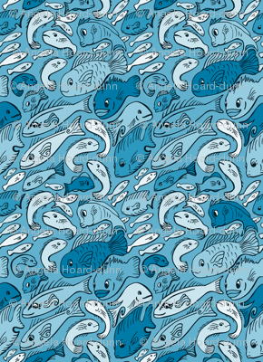 Fishy Fish Blue