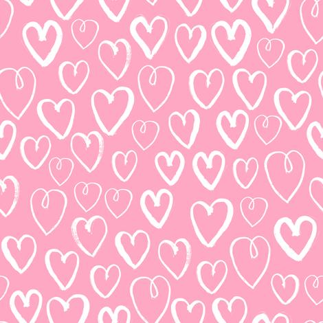 Heart Pastel Pink Love Heart Design For Sweet Little