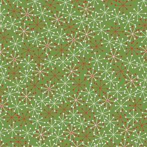 Atomic Snowflake Medium- Olive