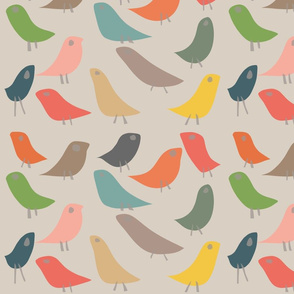The Birds on Beige