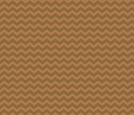 Dark and Light Brown Prim Chevron fabric by cherie on Spoonflower - custom fabric