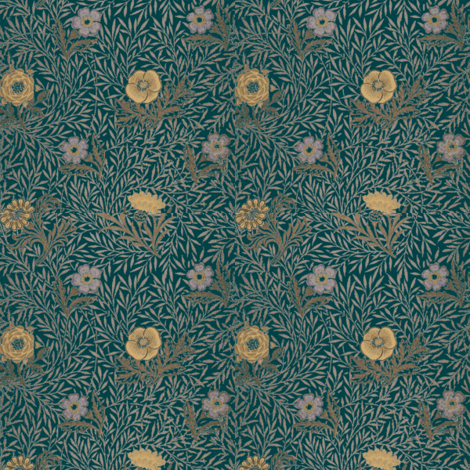 Green Morris fabric by amyvail on Spoonflower - custom fabric