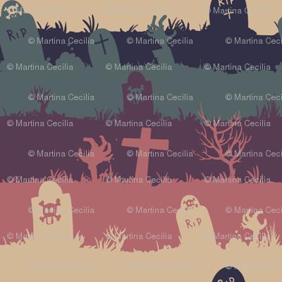 zombie graveyard - colorway 02