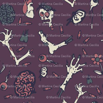 zombie apocalypse - colorway 02
