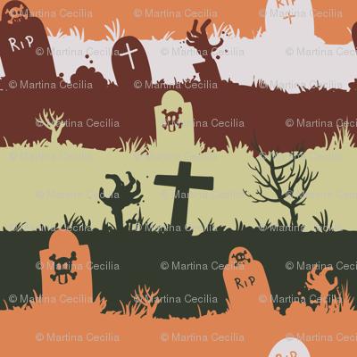 zombie graveyard - colorway 03