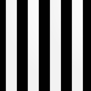 roughly 2 inch wide stripes