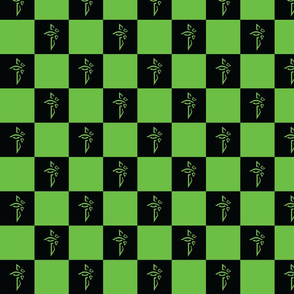 Checkered Enlightened Fabric