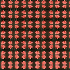 Single Rose Bloom MR Pink/Green