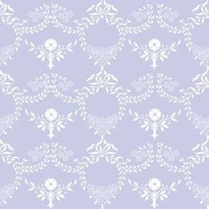 Laura in blue violet
