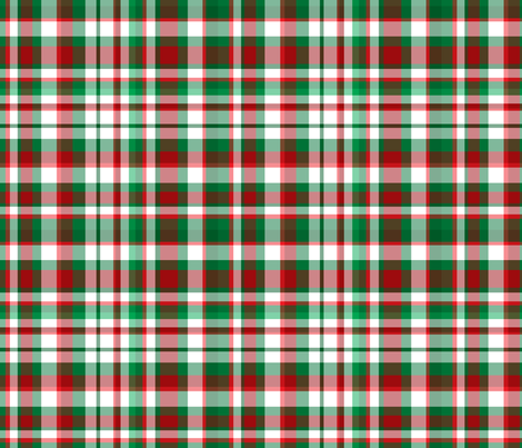 Christmas Plaid fabric by argenti on Spoonflower - custom fabric