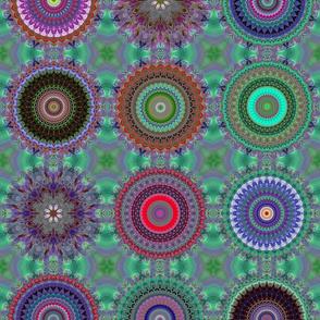 Space Flowers Kaleidoscope