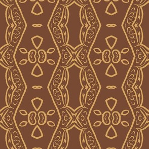 Modern Tribal in Tan and Brown