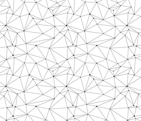Star Map fabric by gracebrian on Spoonflower - custom fabric