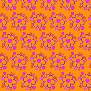 tangerine flowers-ch