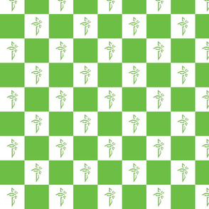 Green & white checkered Enlightenment
