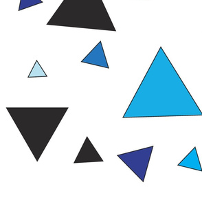 Blue triangular chaos